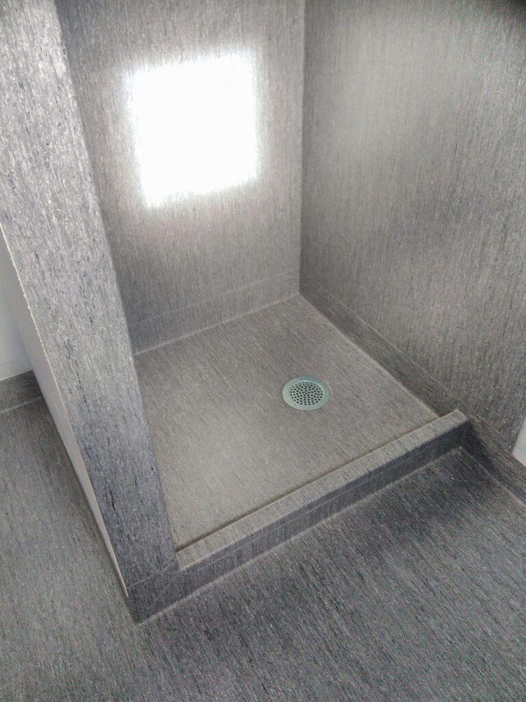brusekabine som vådrum
